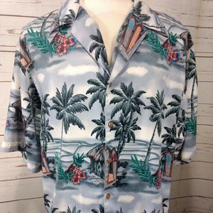 Reservoir World Wide Palm Tree Pineapple Hawaiian